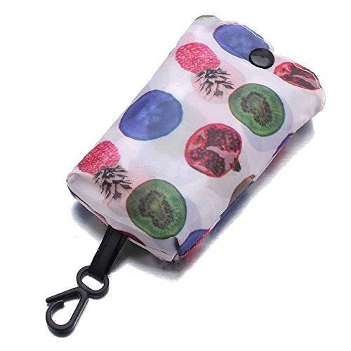 SNXYLOW Faltbare handliche Einkaufstasche Wiederverwendbare Tragetasche recyceln Lagerung Handtaschen Home Storage Organisation Tasche -
