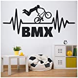 azutura BMX Stunt Vélo Enfants Sticker Muraux Disponible en 5 Dimensions et 25...