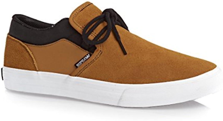 SUPRA Skateboard Shoes CUBA CATHAY SPICE/BLACK WHITE  Billig und erschwinglich Im Verkauf