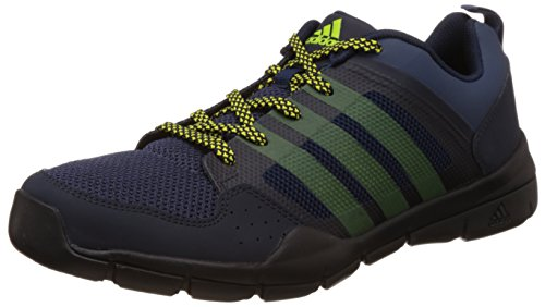 adidas Men's Andorian Dark Blue, Blue and Yellow Multisport Training Shoes - 9 UK