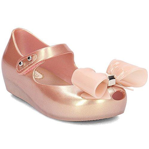 MELISSA+CAMPANA FITAS chaussure femme en 100% caoutchouc black/gris FABRIQUÉ EN BRAZIL - black/gris, EU 35/36 USA 5.5 UK 3