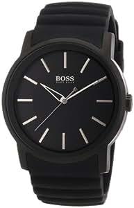 Hugo Boss Herren-Armbanduhr XL Analog Quarz Silikon 1512742