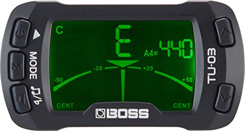 BOSS TU-03 clip-on accordatore e metronomo