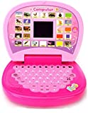 #6: Funny Teddy Educational & Learning Laptop Machine Toys for Kids - Assorted Colors| Learn Vocabulary , Letter & Counting | Baby Computer Tablet | Birthday Gift Toy