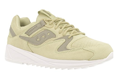 Saucony Uomo Verde Grid 8500 HT Sneaker Verde