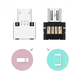 Micro USB OTG ( On-The-Go ) Metal Adapter micro to usb2.0 Use Your USB Devices ( e.g. USB Flash-Drive ) with your Android / Windows Tablet or Smartphone