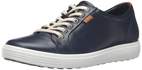 Ecco Soft 7 Ladies, Baskets Basses Femme Bleu (1038Marine)