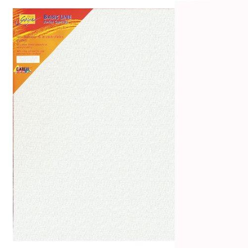 Kreul 610012 - Solo Goya Keilrahmen Stretched Canvas Basic Line, ca. 100 x 120 cm, 4 fach grundiert, für Öl-, Acryl- und Gouachefarben 4 Servietten Basic