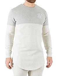 Sik Silk Hombre Camisa de entrenamiento, Blanco