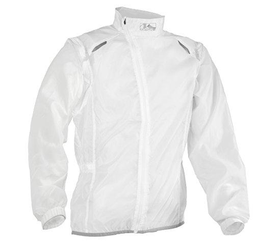 M Wave Wind Jacket/Vest, unisex, Wind durchsichtig