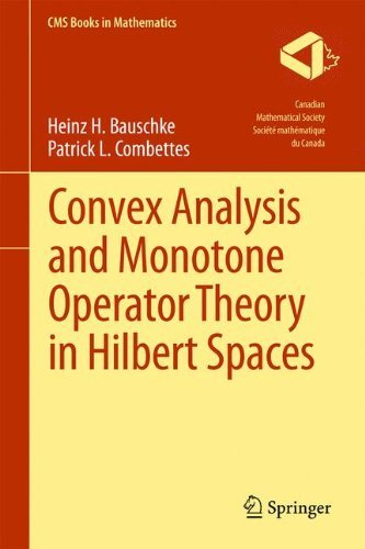 Convex Analysis and Monotone Operator Theory in Hilbert Spaces (CMS Books in Mathematics) by Heinz H. Bauschke (2011-04-22)