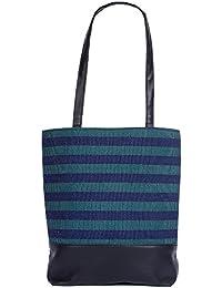Womaniya Women's Handbag, (Material- Canvas, PU) (Color- Multi-color)