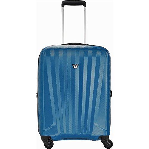 Roncato Uno Zip S Valigia trolley 4 ruote blu