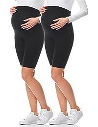 Be Mammy Leggins Premamá Cortos Shorts Embarazo Lactancia 04