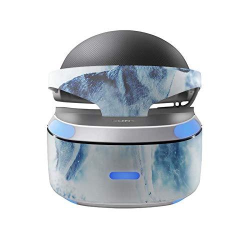 Sony Playstation 4 VR Skin Design Aufkleber Vinyl Schutzfolie Snow Wolf