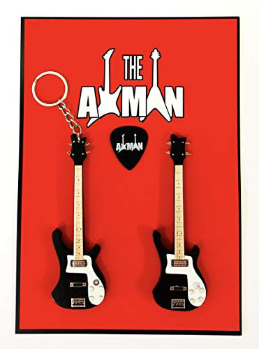 Axman Lemmy Kilmister (Motörhead): Rickenbacker - Schlüsselanhänger & Magnet-Variation (Miniatures Motorhead)