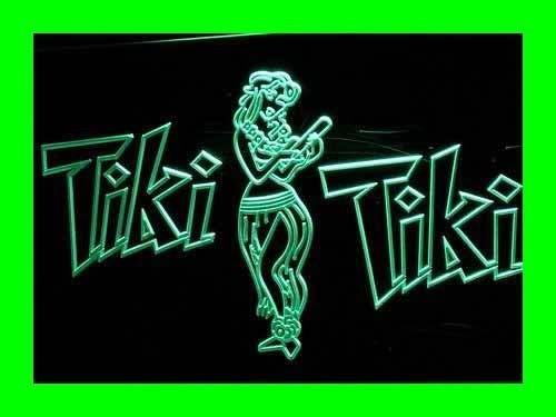 INDIGOS UG Lichtfluter i224-g OPEN Tiki Bar Neon Light sign Barlicht Lichtwerbung Neonlicht