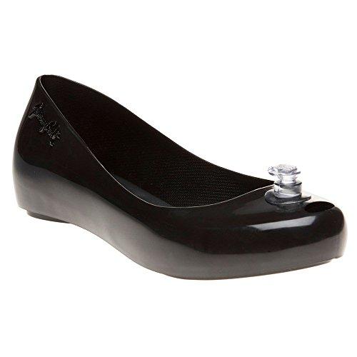 Melissa + Jeremy Scott Js Ultragirl Mujer Zapatos Negro