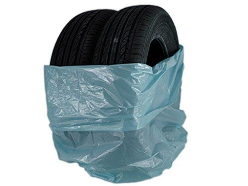 200 pezzi blu pneumatici Sacchi 1000 X 1000 mm/Marca Stix sacchi sacco Pneumatici Cerchietti