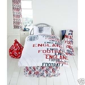 Matching Bedrooms England White Rotary Single Duvet Set