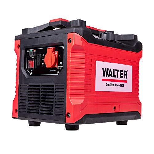 WALTER Inverter Stromerzeuger 1000 W, Notstromgenerator, Notstromaggregat, Stromerzeuger -