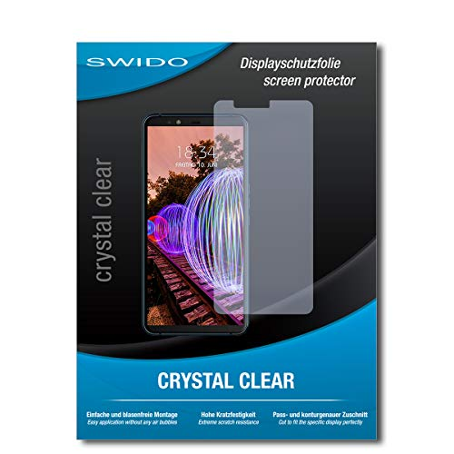 SWIDO Schutzfolie für JVC J20 [2 Stück] Kristall-Klar, Hoher Härtegrad, Schutz vor Öl, Staub & Kratzer/Glasfolie, Bildschirmschutz, Bildschirmschutzfolie, Panzerglas-Folie