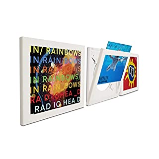 Art Vinyl Play & Display Record Frame Triplepack (White)