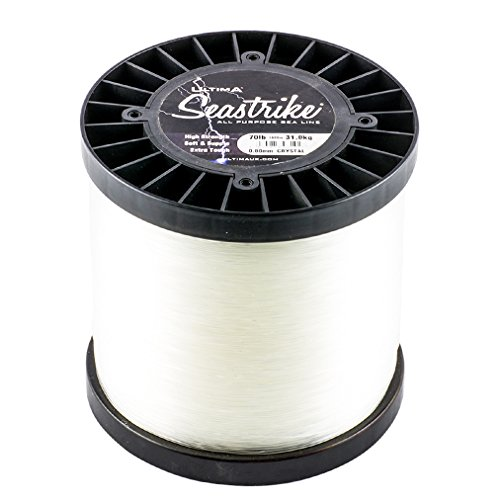 Ultima Herren Seastrike Sterk Angelschnur-500gr Spule, Transparent, 2.00mm-200.0lb/91.0kg