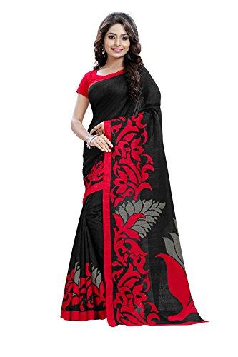 Maxis Cotton Silk Saree (Maxis_Jute_3815-A_Black)