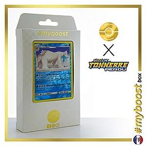 Polagriffe (Beartic) 62/214 Holo Reverse - #myboost X Soleil & Lune 8 Tonnerre Perdu - Box de 10 Cartas Pokémon Francés