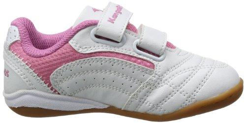 KangaROOS Babyyard Baby Mädchen Lauflernschuhe Weiß (white/pink 006)