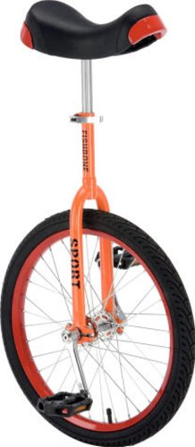 "Fishbone 20"" Einrad orange/rot"