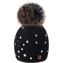 4sold Hat Mujer Stars Smile Love Womens Girls Sombrero de Invierno Gorro de  Punto de Lana d3cbf2f2d15c