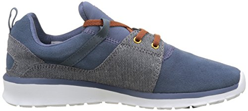 DC Shoes  Heathrow Se, Sneakers basses homme Multicolore (Navy/Blue/White)