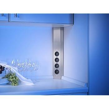 Möbel Steckdosen 3 - fach Küchen Steckdose