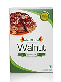 Ambrosia Syruper Walnut Kernels 750 gm (Pack of 3 * 250gm) - Best for Ingredient Purpose