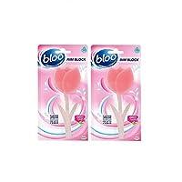 Bloo Flowers Cage Free Toilet Block - 34 g (Sweet Tulip) Pack Of 2