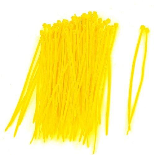 water-wood-100-pcs-flexible-plastic-cable-zip-tie-fasten-wrap-yellow-3-x-100mm