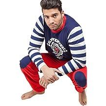 GISELA Pijama para Hombre 100% Algodón del Barrio Sésamo