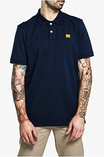 TRENDSPLANT Herren Poloshirt Marineblau