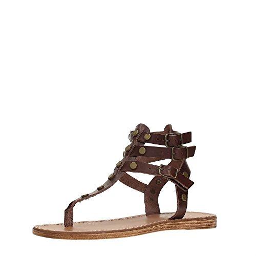 Lumberjack SW31506-002 B01 Sandale Femme Dk.brown