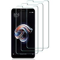 ASA-Y Verre Trempé Xiaomi Redmi Note 5, [3 Pièces] Protecteur d'écran en Verre Trempé Transparent Anti-Rayures Protecteur d'écran Transparent Verre pour Redmi Note 5