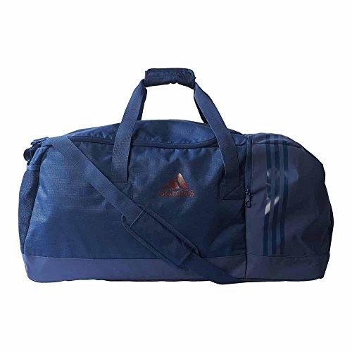 adidas 3-Streifen Performance S Team-Tasche, Mystery Blue/Maroon, 50 x 25 x 25 cm