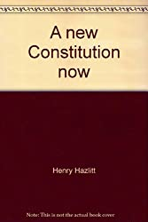 A new Constitution now