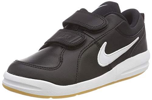 Nike Pico 4 (PSV), Scarpe da Tennis Bambino, Nero (Black/White/Gum Light Brown 023), 33 EU