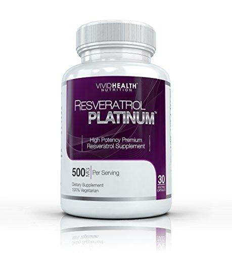 Resveratrol Platinum -Premium, haute puissance resvératrol supplément. La plupart Formulation efficace disponible. Regardez les jeunes se sentent mieux !
