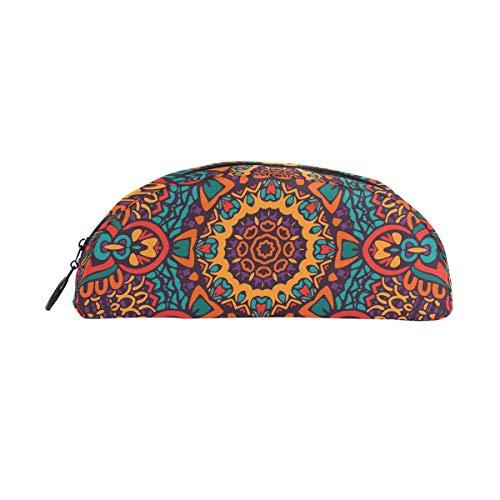Indisches Mandala, antikes Psychedelisches Federmäppchen, Geldbörse, Stiftbox, Büro, Schule, Schreibutensilien