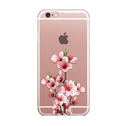 Blitz® ALOHA motifs housse de protection transparent TPE iPhone Flamingo Aloha M16 iPhone 5c arbre à fleurs M15