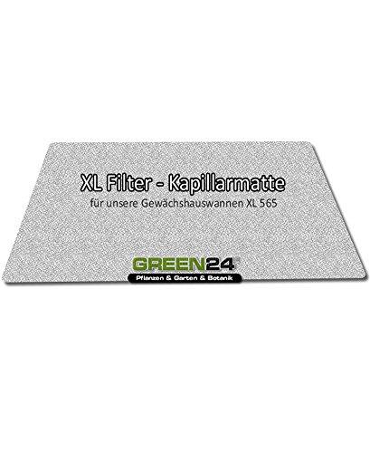 Kapillarmatte XL zur XL565 Gewächshaus-Wanne - zur automatischen Kapillar Bewässerung (Blumen-boden-matte)