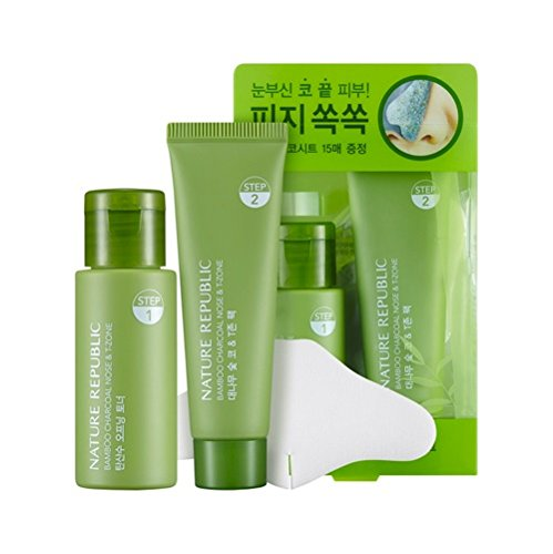 Nature Republic Charbon de bambou Nez N Zone T Lot